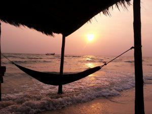 One of beautiful beaches, Sihanoukville, CAMBODIA